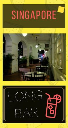 When #traveling to #Singapore, make sure to stop by the #LongBar in the colonial #Raffles Villa! You will enjoy famous #cocktails in the surroundings that resemble a 1950's movie scene!