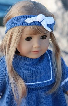 Knitting patterns for dolls clothes - Design 0063D NIRI & VILJA