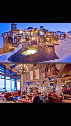 Mountain Lodge Style Design
