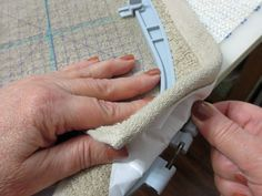 Tips for successful machine embroidery on towels.