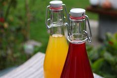 Ein köstliches Rosen-Beeren Sirup und ein winterliches Orangensirup