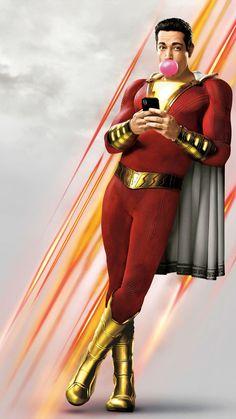 The new trailer for 'Shazam! So, can Shazam revive the DC Universe. Captain Marvel Shazam, Shazam Comic, Marvel Dc, Film Vf, Film Serie, Superman, Batman, Film Streaming Vf, Zachary Levi