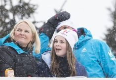 Newmyroyals: Norwegian Royals Attend 2018 Holmenkollen Ski Festival, March 11, 2018-Crown Princess Mette-Marit, Princess Ingrid Alexandra and Crown Prince Haakon