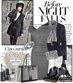 """""""Before the Night Falls"""" by nadine-b-martin ❤ liked on Polyvore"""