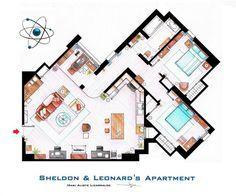 Famous Television Show Home Floor Plans (16)
