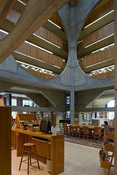 library at Phillips Exeter Academy, Exeter, NH