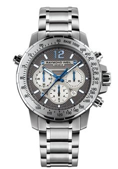 Nabucco 7800-TI-05607 Mens Watch - Nabucco Steel and titanium Grey dial | RAYMOND WEIL Genève Luxury Watches #luxurywatch #raymondweil Raymond-Weil. Swiss Luxury Watchmakers watches #horlogerie @calibrelondon