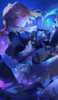 Manga Anime, Manga Girl, Anime Art Girl, Pretty Anime Girl, Beautiful Anime Girl, I Love Anime, Violet Evergarden Wallpaper, Violet Evergreen, Violet Garden