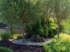 Bergstomten i Nacka - Chrisp Design Garden Landscape Design, Garden Landscaping, Outdoor Spaces, Outdoor Decor, Backyard, Patio, Shade Garden, Dream Garden, Garden Inspiration