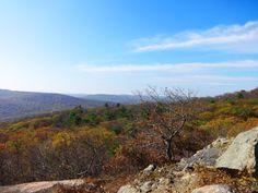 Views of Bear Mountain in NY