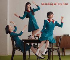 シングル「Spending all my time」初回限定盤ジャケット