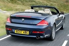 BMW 6 series convertible (635d etc)