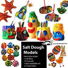 Salt Dough Moldes