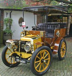 1902 Panhard et Levassor A2 Centaure Rear Entrance Tonneau