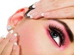 Ładne paznokcie, schöne nägel, nails, schönes augen-make-up