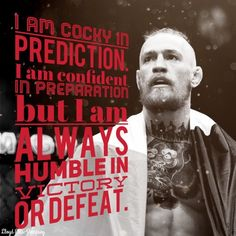 How to live your life. Connor McGregor quotes