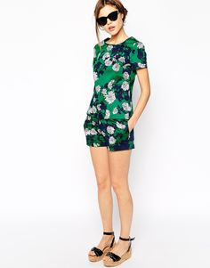 oasis bold floral top