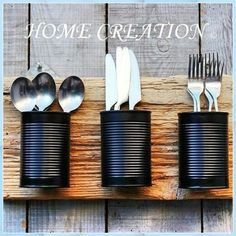 Home Crafts, Diy Home Decor, Diy Crafts, Diy Holz, Diy Interior, Diy Kitchen, Decorative Objects, Aluminium, Diy Furniture