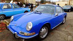 Porsche 912 coupé bleu