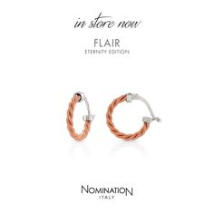 Flair Collection | Nomination Iitaly #nominationitaly #flair #earrings #madeinitaly