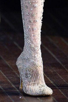 McQueen thigh high boots