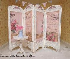 shabby chic vintage privacy screens - Yahoo Image Search Results