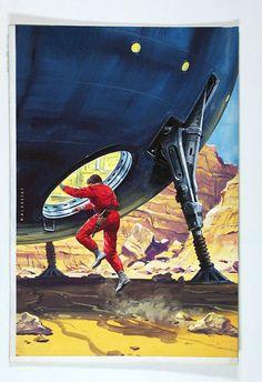 Pulp Science Fiction Art   no longer available!