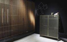 #rimadesio sail sliding Doors and Alambra cabinet #schuifdeuren #interieurdesign