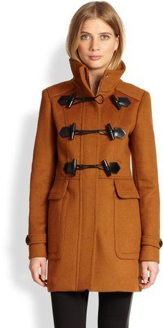 Woolfelt Toggle Coat