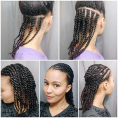 """1,126 Likes, 31 Comments - Annastasia Liu (@_simplystasia) on Instagram: """"After a week of different styles I needed a break from my hair. I wanted to do mini twists but I…"""""""