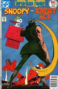 Snoopy Vs. Enemy Ace