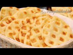 Sajtos tallér gofrisütőben - YouTube Macaroni And Cheese, Waffles, Bread, Make It Yourself, Breakfast, Ethnic Recipes, Food, Youtube, Morning Coffee