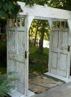 Recycled doors