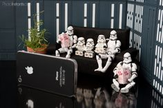 Right Boot Red: Even Stormtroopers Love a Good Party!