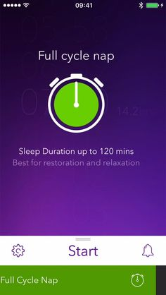 It's easy to start a Power nap with Pillow.  #ios #app #sleep #how_to