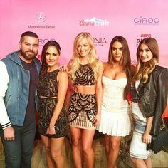 Danielle Moinet with The Bella Family Brianna Nicole JJ & his wife Lola