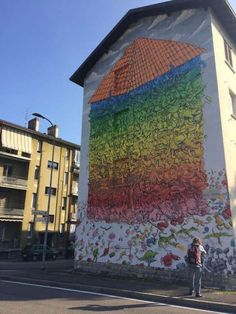 Blu e la lotta per il diritto alla casa: un murales a Bergamo. http://www.organiconcrete.com/2016/10/06/blu-la-lotta-diritto-alla-casa-un-murales-bergamo/