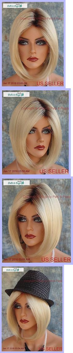 Other Extensions and Wigs: Hailey Rene Of Paris Noriko Wig *Champagne R *New In Box With Tags 516 BUY IT NOW ONLY: $125.0