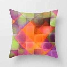 CHECKED DESIGN II-v8 Throw Pillow by Pia Schneider [atelier COLOUR-VISION] - $20.00  #society6 #abstract #art #artproduct #checkeddesign #plaid #geometric #design #colorful #square  #piaschneider #ateliercolourvision #artprint #pillow #throwpillow #home #decor #hometextile #homedecor #livingroom #bedroom #cushion