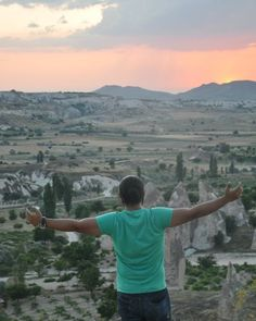 No filter required for this picture...Take in a deep breath of Love....Beautiful view from my travels in Cappadocia Turkey ...Nature has a way of putting a smile to my face. ----------------------------------------------------------------------- #nofilter #picoftheday #photoftheday #love #breathe #breath #view #beautiful #photooftheday #life #scenery #nature #natural #cappadocia #turkey #smile #travelling #travel #vacation #holiday #throwback #mountains #greenery