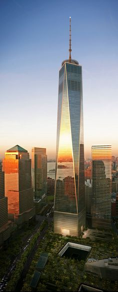The biggest building I've ever seen! One World Trade Center, New York City, USA