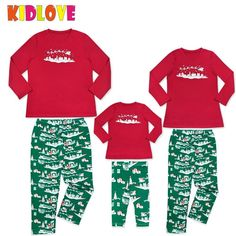 KIDLOVE Christmas Family Pajamas Set Soft Comfortable Home Wear Sled Print 2 Pcs Outfits Red Christmas Set Xmas Gifts ZK30. Yesterday's price: US $10.14 (8.31 EUR). Today's price: US $10.14 (8.37 EUR). Discount: 33%.