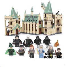 Harry Potter Age, Harry Potter Movies, Harry Potter Hogwarts, Model Building Kits, Lego Building, Lego Figures, Lego Models, Film Serie, Castle