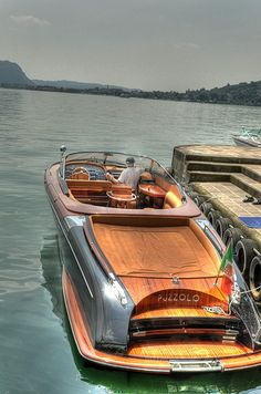 "Aquariva. The name of the boat translates literally as ""skunk"". In some parts of Italy, simply as ""flatulence""."