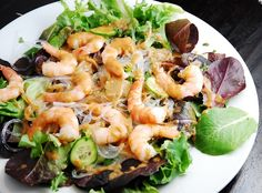 Thai Shrimp Salad Recipe – 5 Points   - LaaLoosh