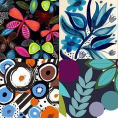 Jocelyn Proust é uma designer especialista em estampas que gosta de produzir nas mais variadas superfícies como parede papel tecido e cerâmica. Geralmente seu processo criativo começa com sketchbook que em seguida vira imagem digital sua preferência é um estilo gráfico mais clean e cores fortes. Radicada na Austrália gosta de se inspirar na beleza natural a sua volta. @OlhardeMahel @jos_proust #estampas #designer #cores #padrões #papeldeparede #designgráfico #tecido #olhardemahel #fpolhares…