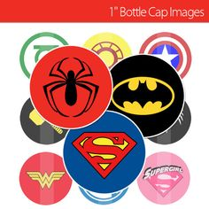 Hey, I found this really awesome Etsy listing at https://www.etsy.com/listing/178269503/marvel-superhero-logos-60-1-bottle-cap