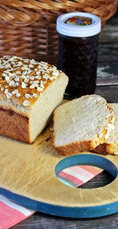 Honey Oatmeal Bread #BreadBakers - Recipes Food and Cooking