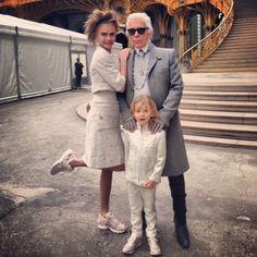 Cara Delevingne, Karl Lagerfeld Georgia May Jagger, Couture Week, Cara Delevingne, Star Fashion, Fashion Photo, Karl Lagerfeld, Chanel Couture, Couture Fashion, Carine Roitfeld