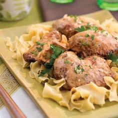 Snappy Smothered Chicken | We added a little white wine to this recipe to dress it up a bit. If you prefer not to use wine, increase the milk to 1 1/3 cups.